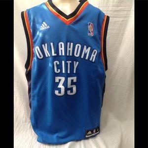 Boy's Medium Kevin Durant Oklahoma Thunder jersey